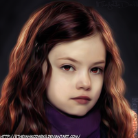 Breaking Dawn Renesmee by IITheYahikoDarkII