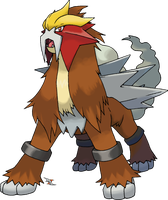 Entei by Xous54
