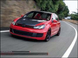VW Golf VI by WeemanX2C