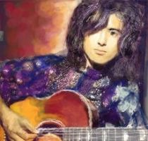 Jimmy Page Collaboration by FrozenMinted