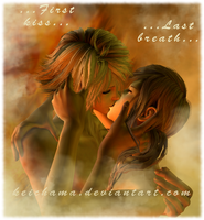 FFXIII : First kiss....last breath by keichama