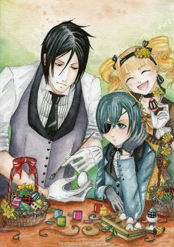 Easter Day by Si3art