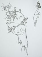 Mind tendrils by Eggzombie