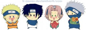 Narupon Team 7 X3 by h-ozuno