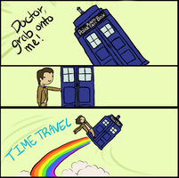 Grab My Tardis! by Toothlesslover123