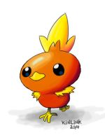 Torchic by KINLINK