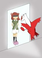 Latias and the Mirror by Resistance-Of-Faith