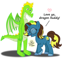 Feb 6: Bright+Rancor ~ My Dear Dragon-friend by A-Bright-Idea