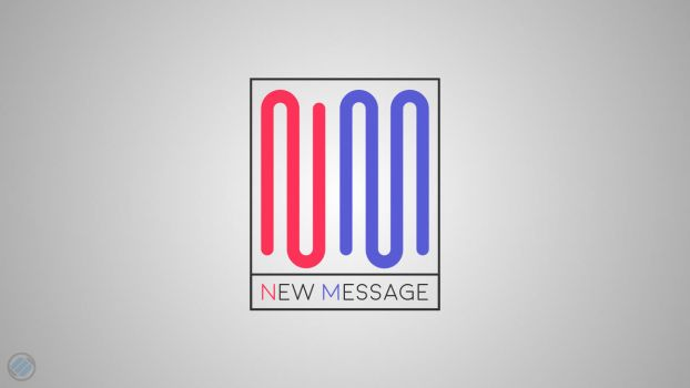 new message logo by Szesze15