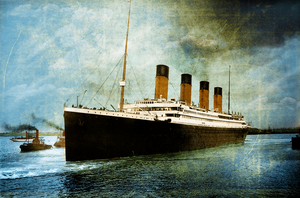 Her Sorrows Are Sung in Heaven by RMS-OLYMPIC