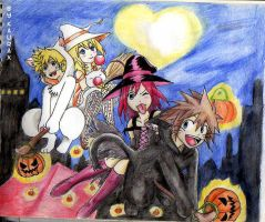 KH halloween by kaurax