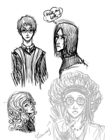 More HP Sketches by Chancc