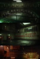 High Security Room and Sewers by duster132