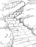 Stairs to wherever by GlyphBellchime