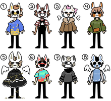 (CLOSED) - OFF inspired adopts p8 by ReeAdopts