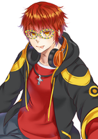Mystic Messenger: 707 by rossomimi