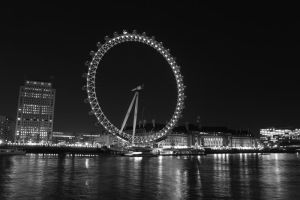 London Eye Thames by Elessar91