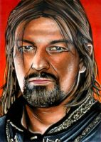Boromir Sketch Card by RandySiplon
