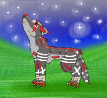 My First Wolf on DA by puddathere