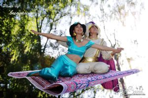 A whole new world - Princess Jasmine Cosplay by Eressea-sama