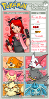 Mizz in pokemon world xD