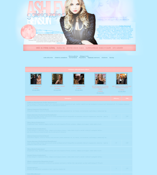 Ashley Benson Coppermine Layout by Imfearless