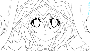 Yoshino lineart by Sugi14
