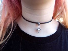 Cute Under My Umbrella Choker by BubblegumGraffiti