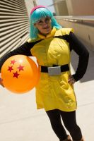 Namek Bulma-Cosplay 2 by MajinNeda