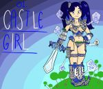 Castle Girl by Super-Ego