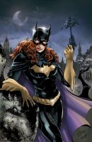 Batgirl color for DC Comics by le0arts