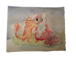 Request: Delibird and Charmander by Minthia