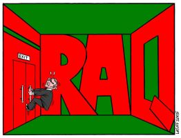 No way out for Bush by Latuff2