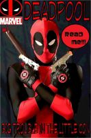 Deadpool Comic Cover by Cadmus130