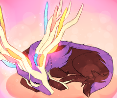 Xerneas by GhostlyStatic