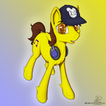 Macarou Pony (Commission) by ABluSkittle