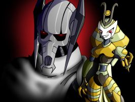 Vexus and Grievous by DaCommissioner