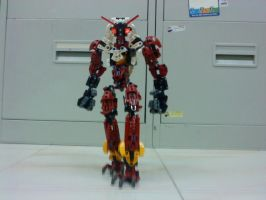 Bionicle Blaziken by bountyDBZ