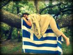 Greece sleeping in a Tree by CrazyLittleHanyou