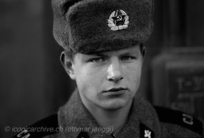 Soviet Army Soldier by iconicarchive