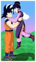 DBZ: Happy couple by S-Pan