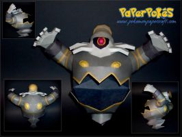 Dusknoir Papercraft by Skeleman