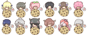 Batch1 Cookie Addict Chibiz Commission by XmasCandy