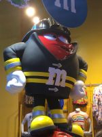 M AND M Firefighter Statue by Mike-The-Winner