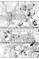 Spidey page 2 by JonMalin
