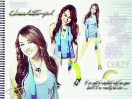 Miley Cyrus '009' by chocolate-juice