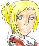 Annie leonhart painting by Fran48