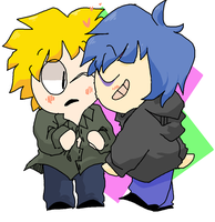 Rowan and Tweek by Ask-Fiona
