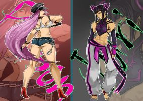 Poison and Juri by hayame-82