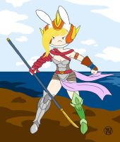 Armored Fionna by -coldfusion-